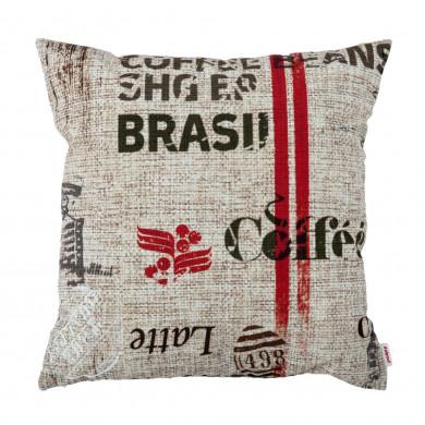 PODUSZKA DEKORACYJNA COFFEE 45 x 45 cm