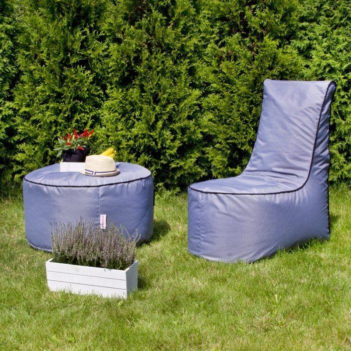 Zestaw fotel + stolik madryt outdoor
