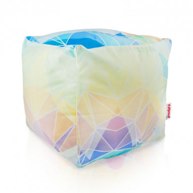 PUFA ABSTRACT PASTEL CUBO