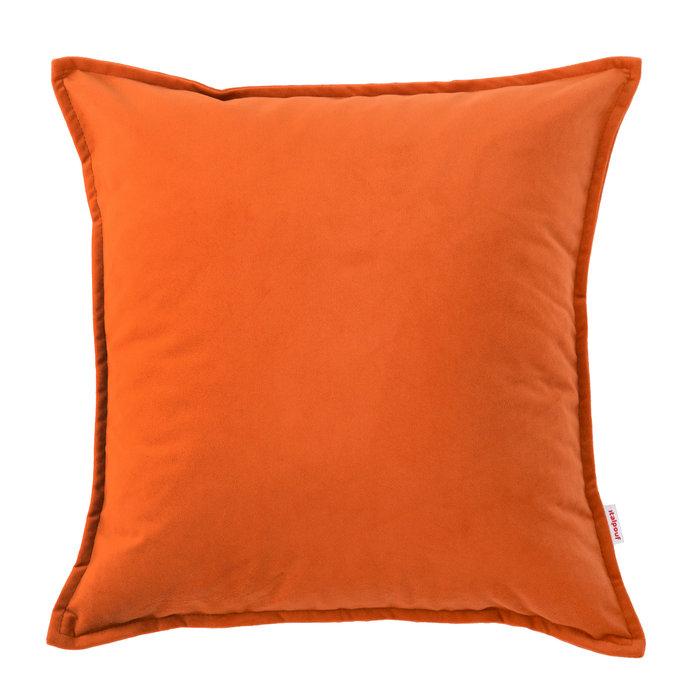 Ozdobna Poduszka Na Sofę Pomarańczowa