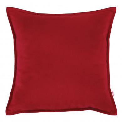 Czerwona Poduszka Ozdobna Kwadratowa