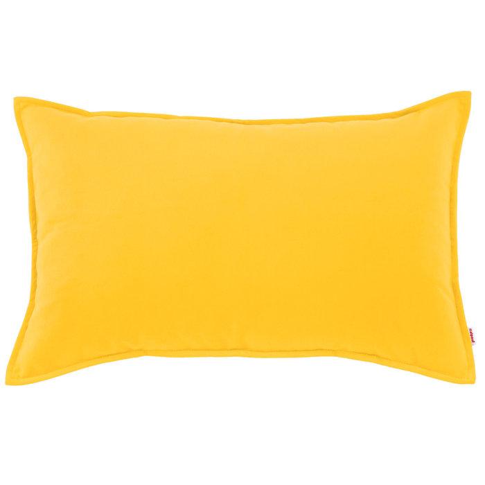 Żółta Poduszka Ozdobna Na Sofę