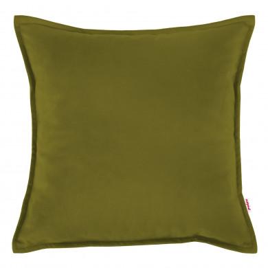 Poduszka Kwadratowa Zielone Jabłko Welur