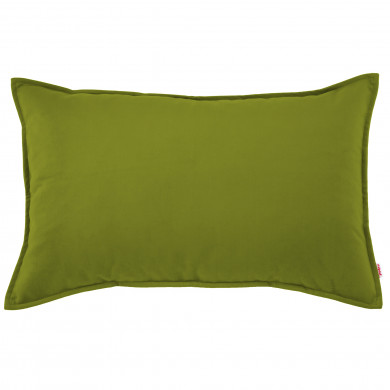 Poduszka Ozdobna Zielone Jabłko Alcantara