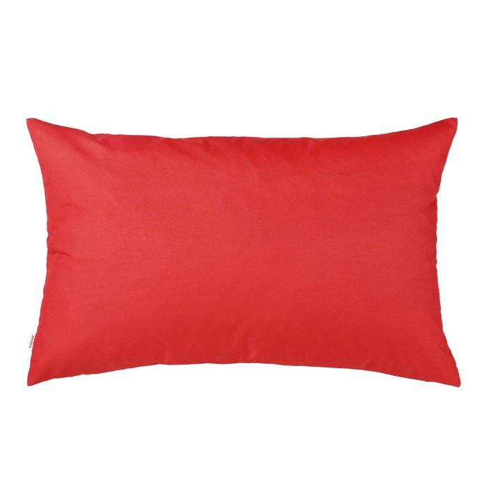 Prostokątna Czerwona Poduszka Na Taras