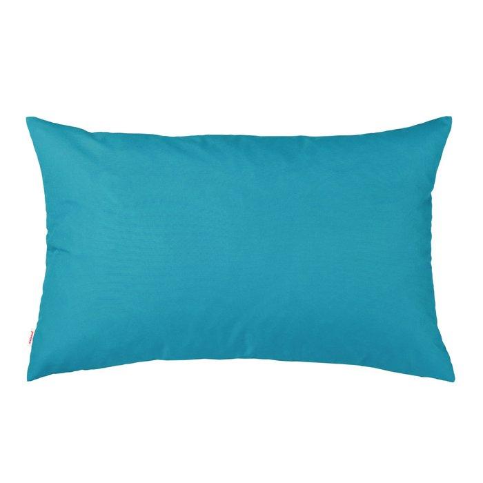 Niebieska Poduszka Prostokątna Na Leżak