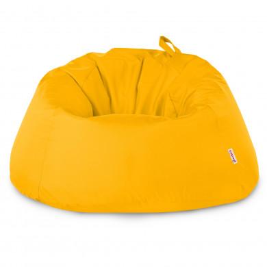 Worek Fotel XXXL Dla Dzieci Cytrynowy Nylon
