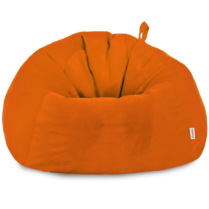 Pomarańczowy Worek Sako Dla Dzieci XXXL Plusz