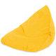 Żółta Pufa Sako Dla Dzieci Bermudy Plusz