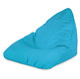 Niebieska Pufa Worek Do Siedzenia Bermudy Nylon