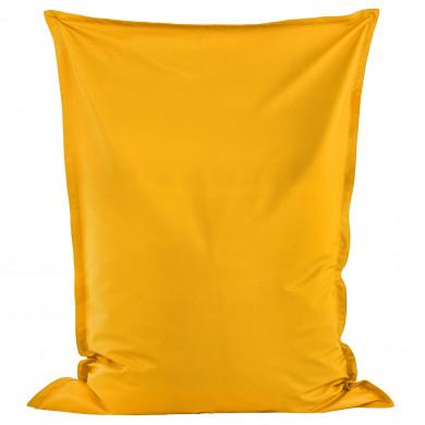 Jasny Żółty Poducha XL Do Pokoju Ekoskóra