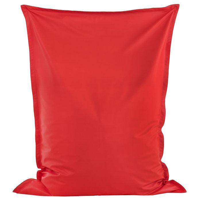 Czerwona Poducha XL Do Pokoju Ekoskóra