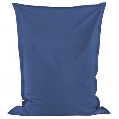Niebieska Poducha XL Dla Chłopca Ekoskóra