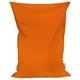 Pomarańczowy Poducha XL Do Siedzenia Plusz