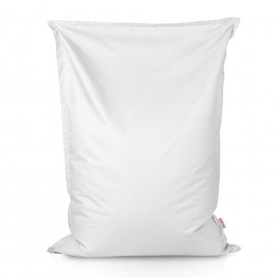 Biała Poduszka XL Do Siedzenia Nylon