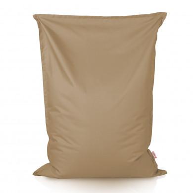 Beżowa Poduszka XL Do Ogrodu Nylon