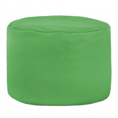 Zielona Pufa Z Granulatem Ekoskóra Cilindro