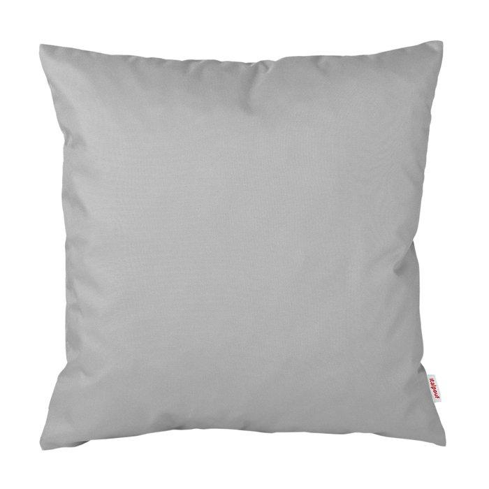 Poduszka Ogrodowa Kwadratowa Srebrny Nylon