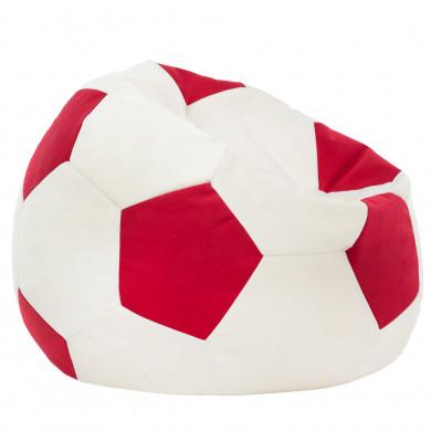 Czerwony Fotel Piłka Nożna Do Siedzenia