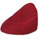 Worek Sako Drop XXL Czerwony Do Salonu Plusz