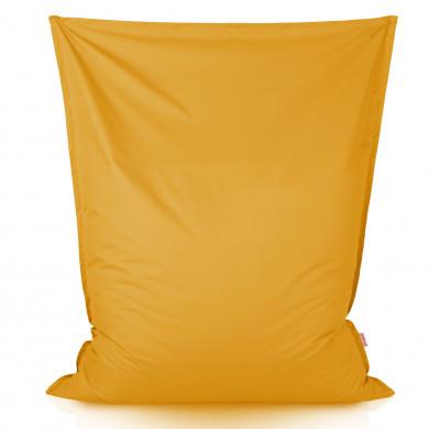Żółta Poducha Do Leżenia XXL W Ogrodzie Outdoor