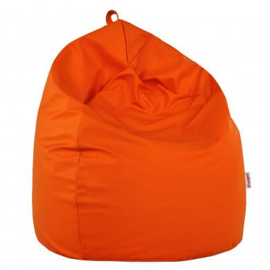 Pomarańczowy Worek Sako Dla Dzieci Pufa