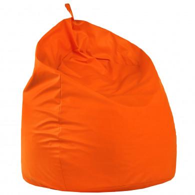 Pomarańczowy Worek Pufa XXL Ogromny