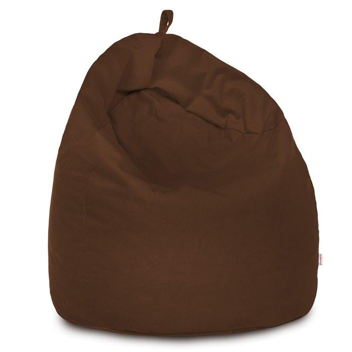 Kakaowy Worek Sako XXL Pluszowy Puf