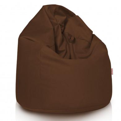 Brązowy Worek Sako Kakaowy Plusz