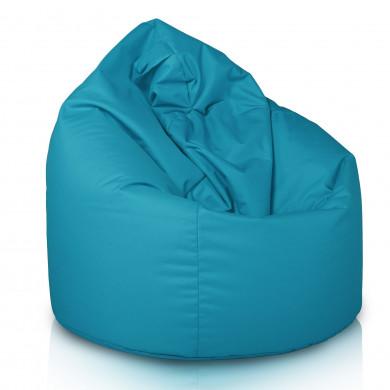Niebieski Worek Fotel Sako Do Siedzenia Nylon