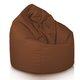Kakaowy Worek Sako Fotel Brązowy Nylon