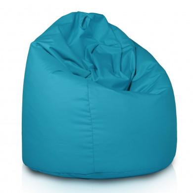 Niebieski Worek Fotel XXL Outdoor Do Leżenia