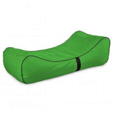 Pufa Lounge Chaise Zielona Wodoodporna