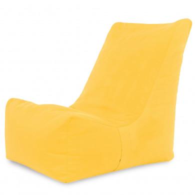 Żółty Nowoczesny Fotel Sako Dla Dzieci