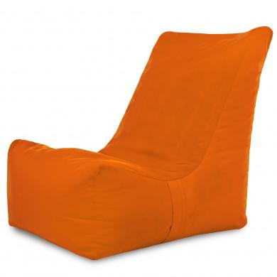 Pomarańczowy Nowoczesny Fotel Młodzieżowy