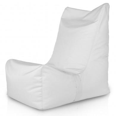 Biały Fotel Ogrodowy Distinto Do Siedzenia