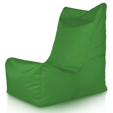 Zielony Fotel Ogrodowy Na Balkon Nylon