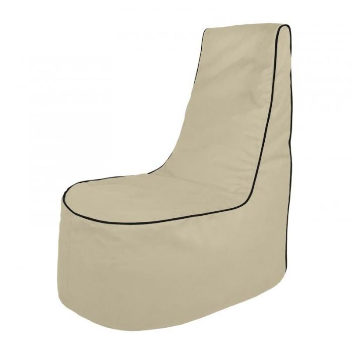 Perłowy Wygodny Fotel Sako Do Siedzenia Nowoczesne Fotele