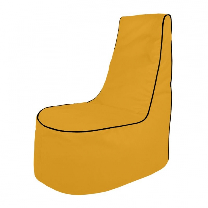 Żółty Wygodny Fotel Do Pokoju Dziecięcego