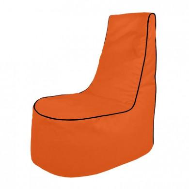 Pomarańczowy Wygodny Fotel Młodzieżowy