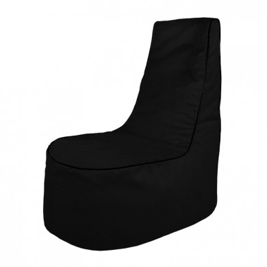 Czarny Wygodny Fotel Sako Relaksacyjny