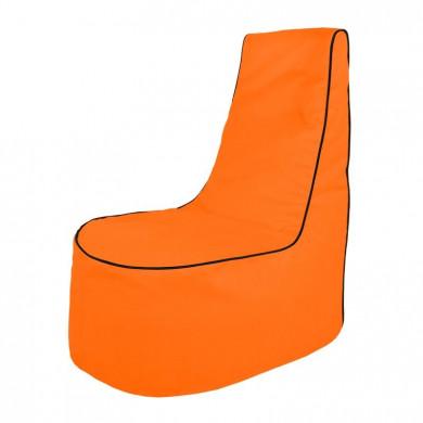 Pomarańczowy Fotel Nowoczesny Na Zewnątrz