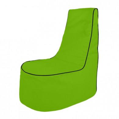Limonkowy Fotel Wypoczynkowy Na Zewnątrz