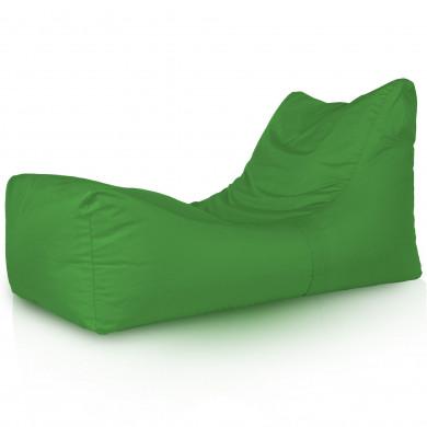 Zielona Leżanka Ogrodowa Fotel Ogrodowy