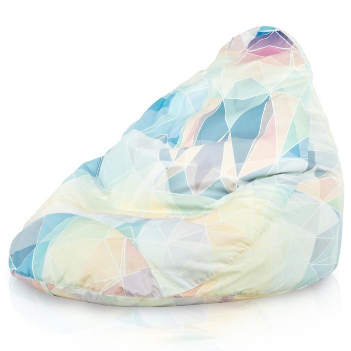 Duży Worek Sako Drop XXL Abstract pastel