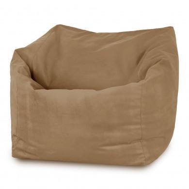 Beżowy Fotel Amalfi do siedzenia