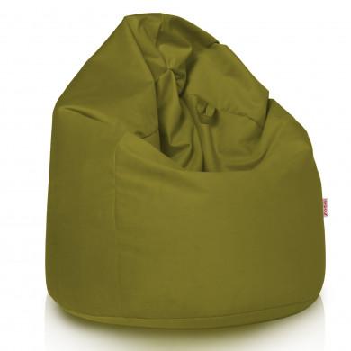 Worek Sako Do Siedzenia Zielone Jabłko Plusz