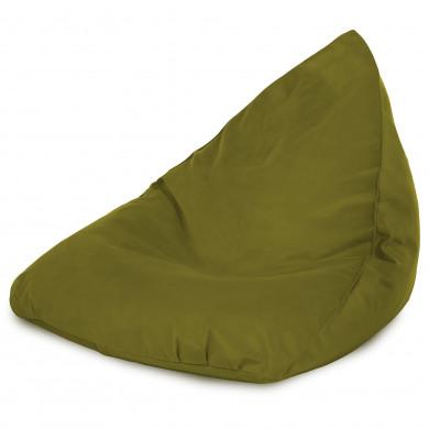 Zielone Jabłko Pufa Sako Worek Bermudy Plusz