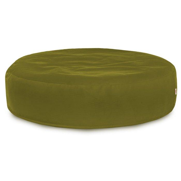 Zielone Jabłko Poducha Okrągła Plusz