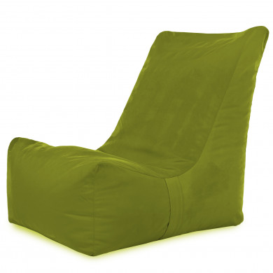 Zielone Jabłko Nowoczesny Fotel Sako Wygodny